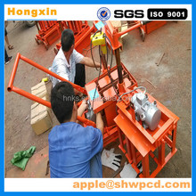 2017 cheap price whole sale manual brick making machine/small brick machine/ moving hollow brick machine