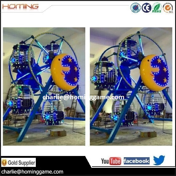 Mini Ferris Wheel / Playground outdoor games rides electric rides for children small electric ferris wheel