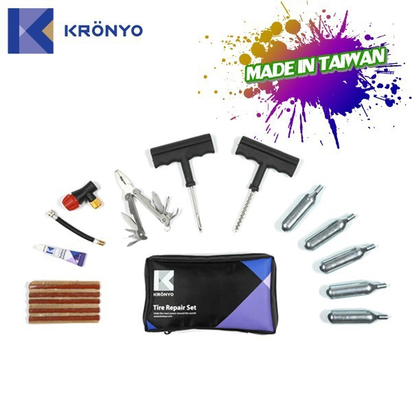 KRONYO car flat tire tire fix shop tire repair kits for cars