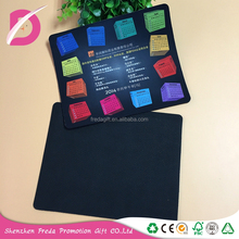 Square non-slip waterproof natural rubber mouse pad