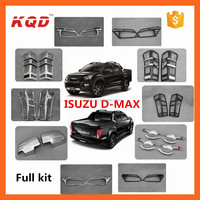 car complete full chrome accessories for 2014isuzu dmax full body parts dmax fender flare i suzu dmax 2014 accessories