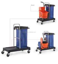 Multi-Purpose Multifunctional Cleaning Janitor cart