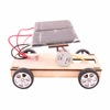 DIY wooden solar car kit assemble toy educational toys for kids