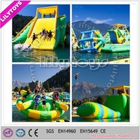 Exciting and crazy inflatable water toys, inflatable adult water play equipment