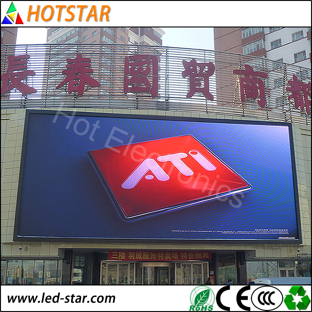 hot selling mesh slim digital p18.75 led display export to Switzland Finland Danmark Norway