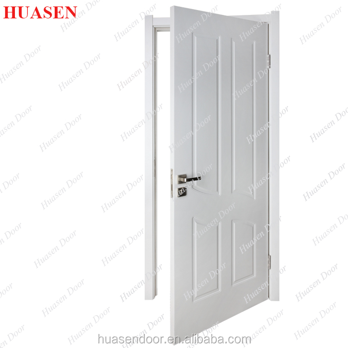 Latest Design White Wooden Doors For Apartment