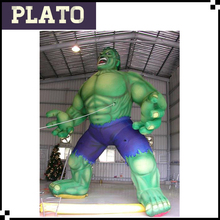 giant inflatable monster hulk cartoon character, inflatable cartoon