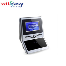 Economical Eye scan biometric smart card face recognition time attendance device with free software