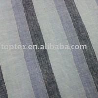Linen FABRIC/Linen cotton Fabric/Yarn Dyed Linen Fabric