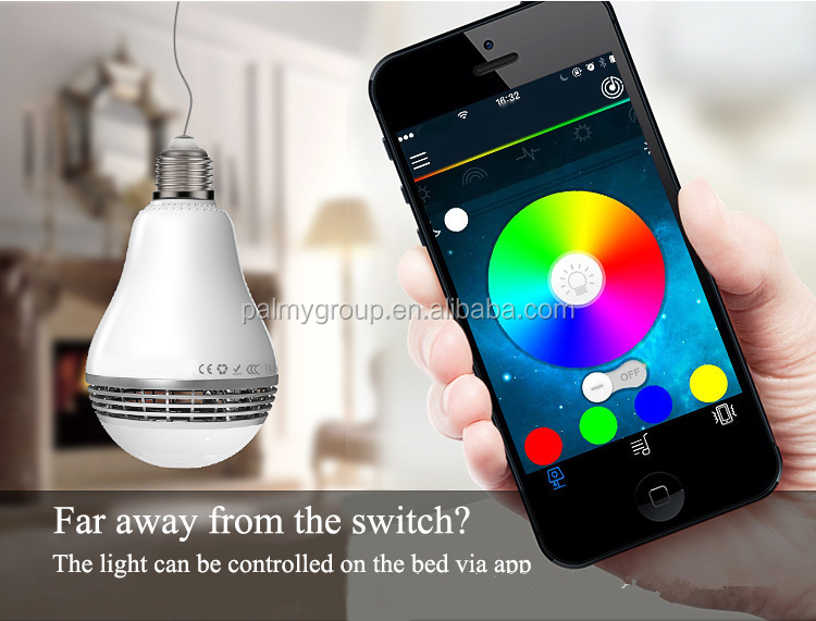 Directly Factory LED Smart <strong>Bulb</strong> Bluetooth Audio Speakers 5W LED RGB Music Light <strong>Bulb</strong> Suitable for Android and iPhone