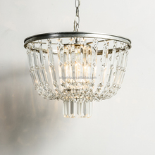 Large round antique waterford luxury chandelier crystals hanging chandelier pendant lamp for living room