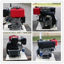 Hot sale! 20hp 4-stroke air-cooled diesel two-cylinder engine