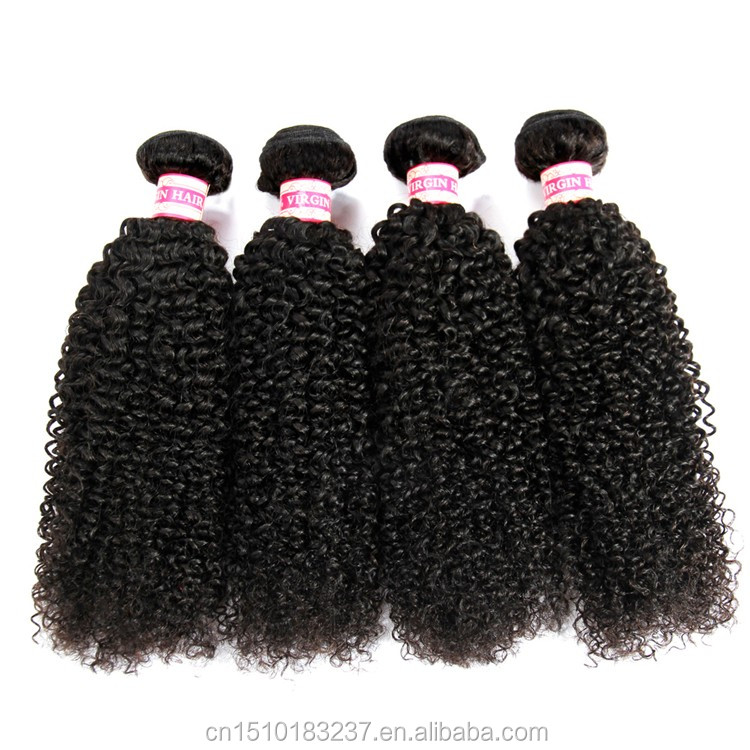 Cheap kinky curly brazilian human hairweave colours, spiral curl human hair weaving