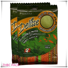 1 kg plastic bag for powdered coca tea delisse