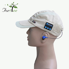 New design outdoor sport unisex headphone smart wireless baseball snapback cap