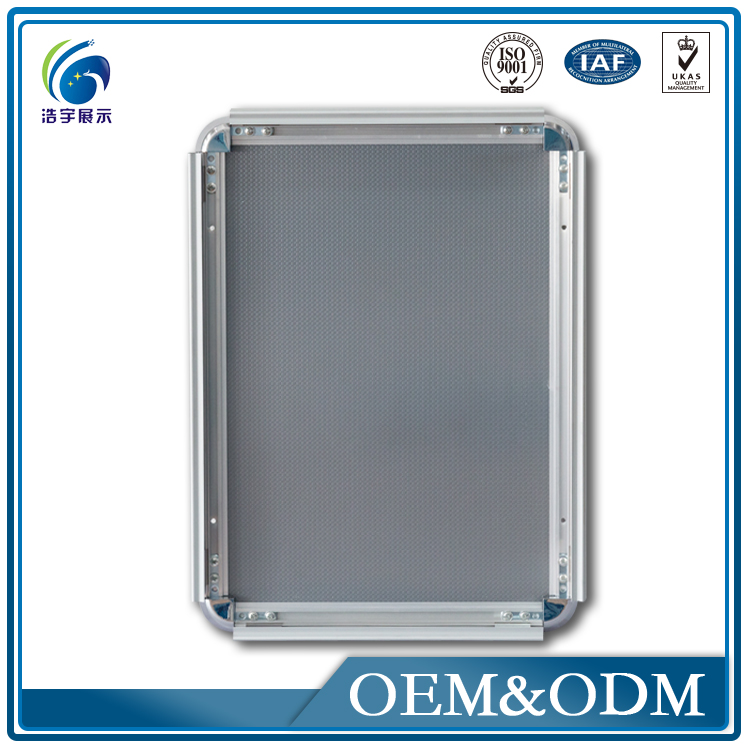 Advertising Signs Outdoor Photo Frame Glass