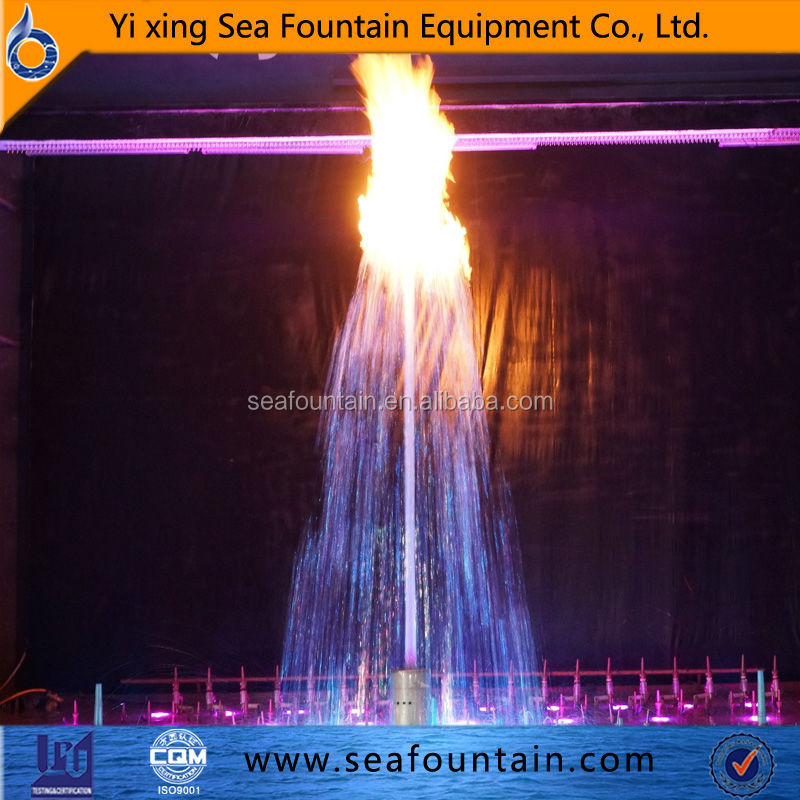 adjustable fire spray fountain fire and water fountain