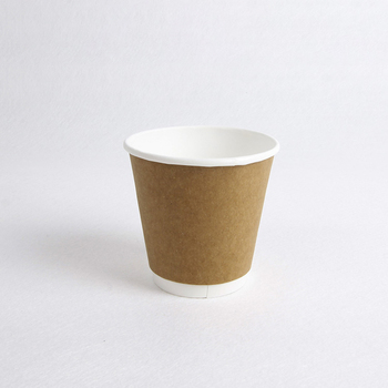 Excellent workmanship double wall kraft paper cups