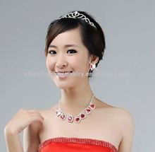 2011 Fashion Diamond Heart Bride Jewely Set HSXN0619