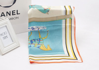 Europe and the United States B carriage new explosion star with a high-grade silk scarves wholesale manufacturers big