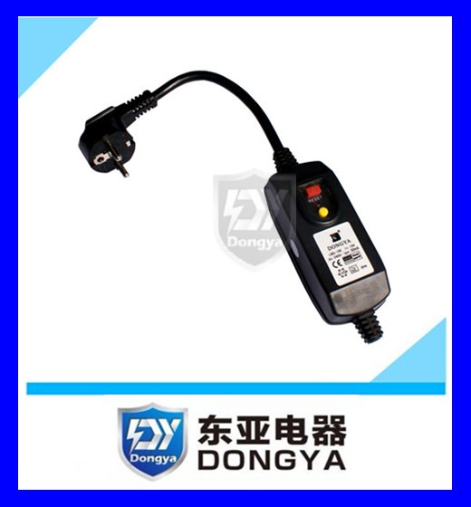 RCD/PRCD/GFCI SPA safety plug power breaker