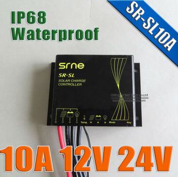SR-SL 10A IP68 Waterproof 10A Solar charge controller