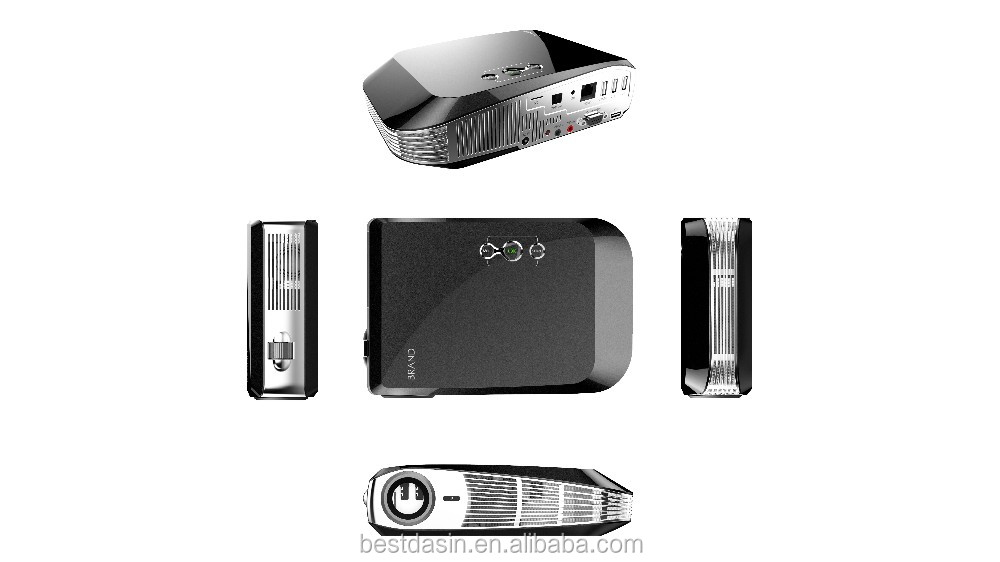 mini projector with tv tuner 5000:1 3D Android 4.4 4K projector /RK3288 Quad-core Cor-A17 GPU Mali-T764 mini pocket projector