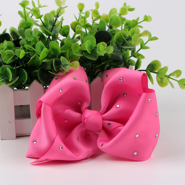 wholesale boutique kids bow clips for hair