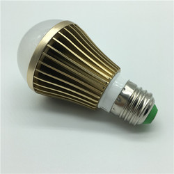 wholesale 5W Gold Housing color LED Bulbs for indoor