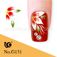 2014 new designs fashion nail art sticker nail accessories artificial fingers