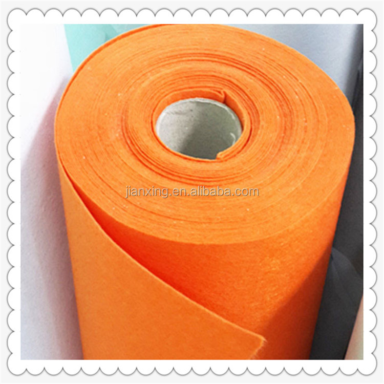 Colorful 1mm 100%polyester fabric nonwoven polyester felt for garment interlining Trade Assurance supplier