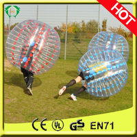 Happy Island adult bubble ball for football,bubble ball for sale,inflatable belly bumper ball