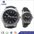 Classic design leather pair couple watches