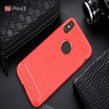 Carbon Fiber TPU Brushed Texture Shockproof Anti-scratch Case Phone Cover for Nokia 3/ 5/ 6/ 7/ 8/ 9/ for Moto X4/ C/ Z2/ G5/ M
