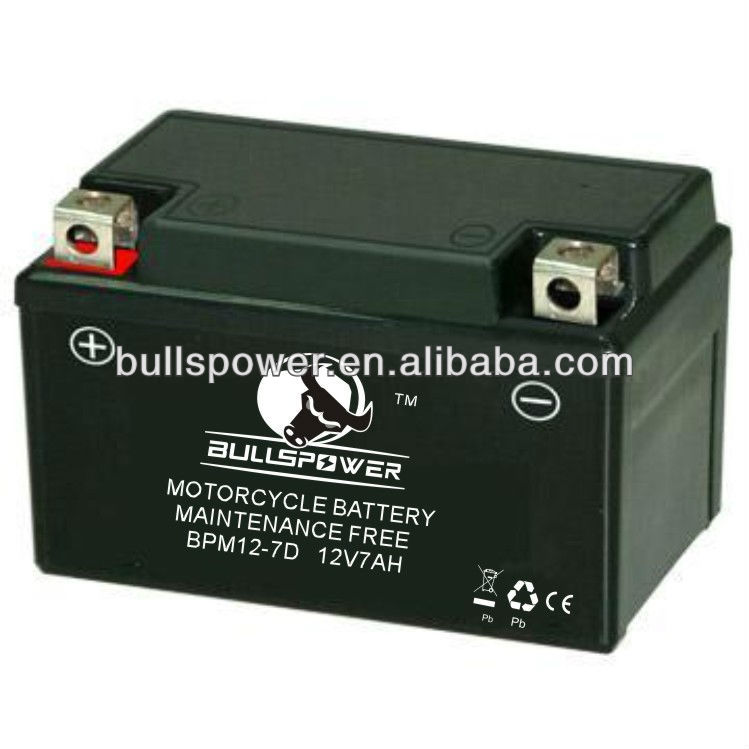 motorcycle battery 12v 7ah,fast charging battery operated child motorcycle
