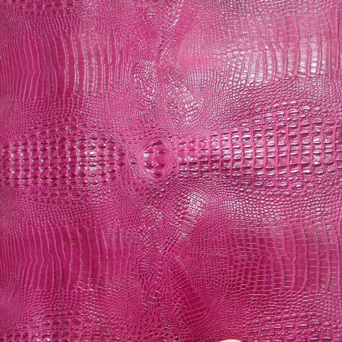 Crocodile Pattern Embossed Leather , Embossing Faux Leather