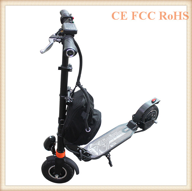 2 wheels 350 Watt 40KM range electric folding bike e scooter for adults