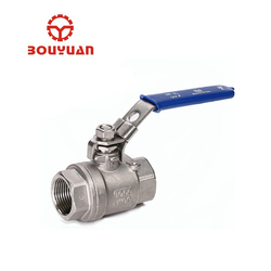 High pressure male female ball valve Stainless steel 304 NPT thread ball valve with lock