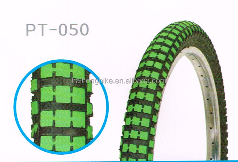 The Hot Selling New Style Color Bicycle Tire in ShangHai Fair