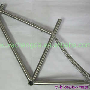 XACD made Titanium touring bike frame Ti road bicycle frames titanium 48cm bike frameset