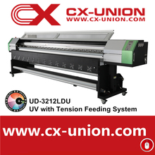 Galaxy UD-3212LDU 10feet/3.2m large format roll to roll flatbed panaflex banner phone case uv printing machine