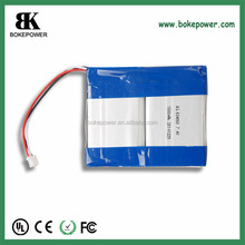 634060 7.4V 1600mah li-ion battery pack li-polymer 4000mah battery