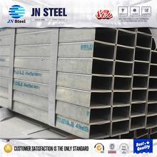 building materials galvanized hollow section steel pipe , tubes galvanized steel pipe for construction