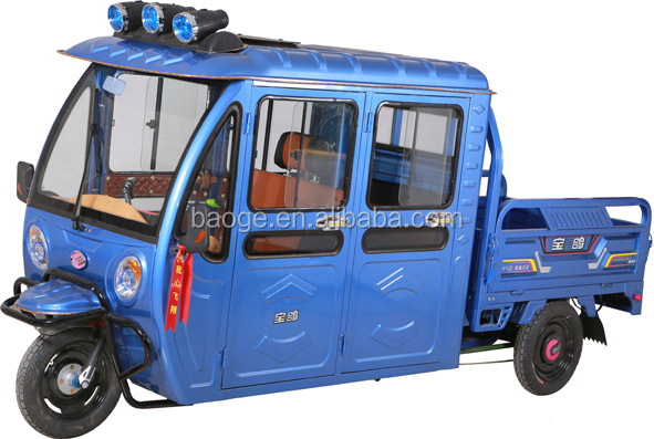 Newest electric tricycles standing used for sale,cargo tricycle