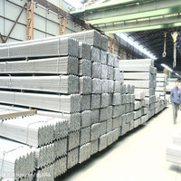 Hot dipped galvanized steel angle bar Q345 ZINC COATING stock