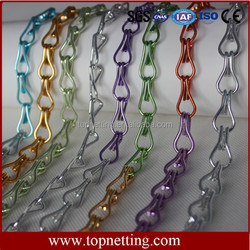 Decorative Metal String Curtain For Room Divider
