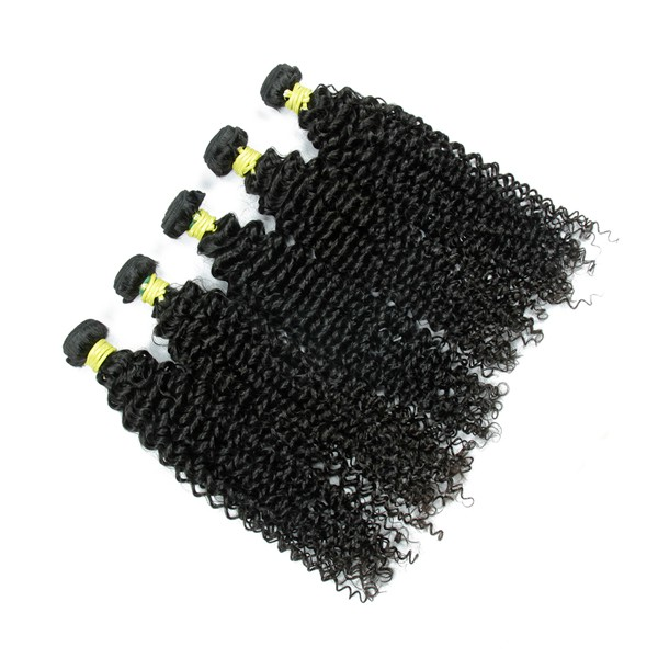 5000 pcs in stock kinky curly virgin malaysian wholesale human hair extensions