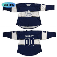 top quality dry fit cheap custom box ice hockey jerseys new design in 2017