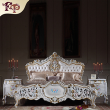 Italian classic design furniture-french provincial bedroom furniture