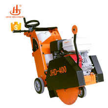 Manufactory easy used saw for cutting concrete with Honda GX390,road construction tools(JHD-400)